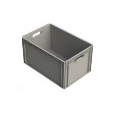 Bac plastique NE – Plein – Basicline – 600x400x320
