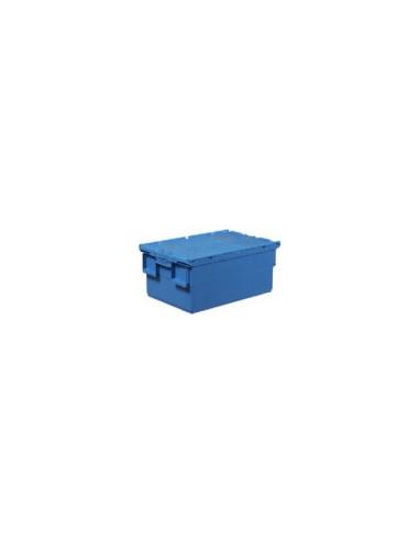 BAC GERBABLE / EMBOITABLE AVEC COUVERCLE 600X400X250 MM