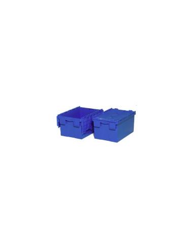 BAC GERBABLE / EMBOITABLE AVEC COUVERCLE 600X400X310 MM