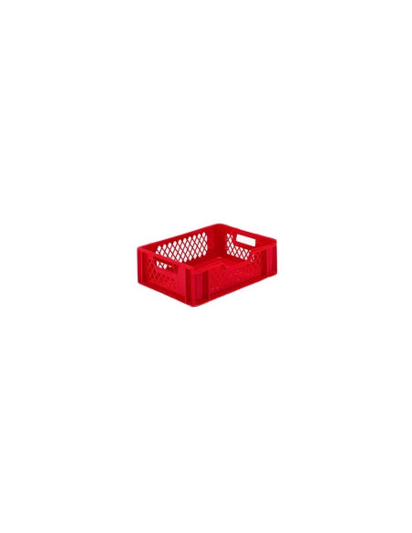 Bac plastique à viande 400 x 300 x 115 – ajouré – E4