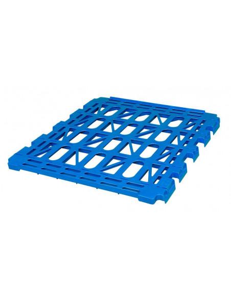 Etagère en plastique pour roll-conteneur - 810x660