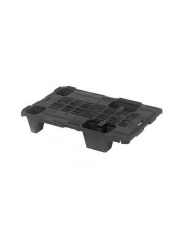 Demi Palette en plastique 600x400x115 - Ajourée
