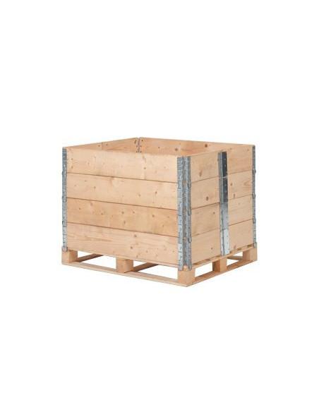 Réhausse palette 600x400 mm idéale pour les demi-palette