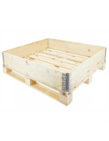Réhausse bois pliante – 4 charnières – 1200 x 1000