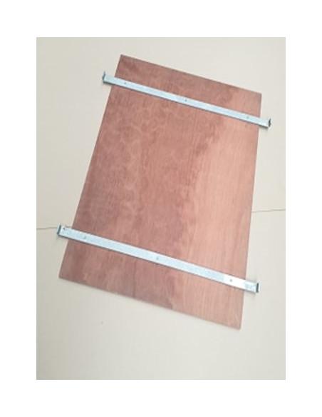 Etagère pour roll-conteneur emboîtable 820x655x1600 mm - Palettes.fr