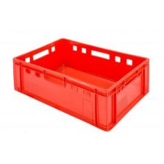 Bac plastique alimentaire à viande E2 600x400x200 mm - Bacs alimentaires - Palettes.Fr