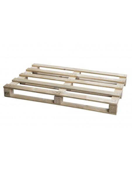 Palette bois perdue occasion 800x1200 légère 3 semelles - 500 kg de charge