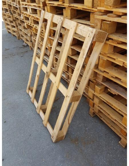 Palette bois occasion de dimensions 1000x1200, 3 semelles - 450 kg - Palettes.fr