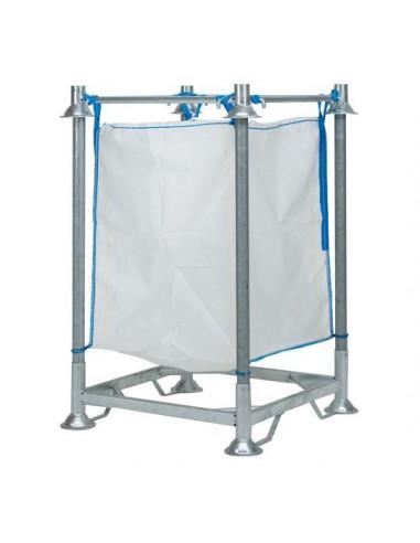 Base rack à big bag 1120x1120x310mm