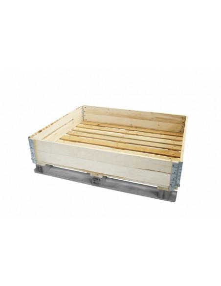 Réhausse palette bois 1200x800, 2 planches en vente sur Palettes.fr