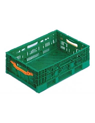Bac plastique fruits et légumes 600x400x175 mm sur Palettes.fr