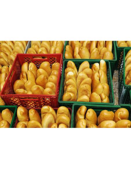 Manne à pain pour la distribution du pain et la mise en avant du pain en boulangerie à commander sur Palettes.fr